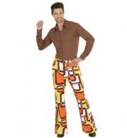 70's Groovy Flared Trousers Tubes (09256)